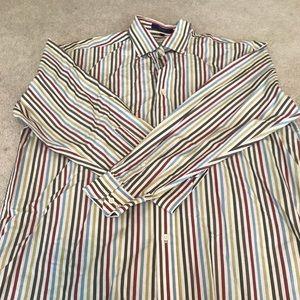 Alan Flusser dress shirt Sz. L